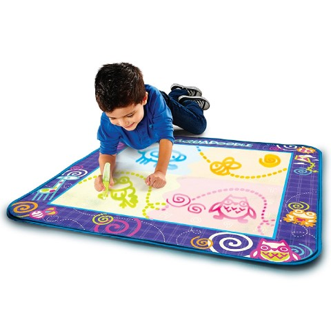 AquaDoodle Drawing Mat with Neon Color Reveal (Small)