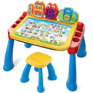 Touch and learn activity desk deluxe toddler toy