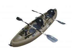 BKC TK219 12.2' Tandem Fishing Kayak Review