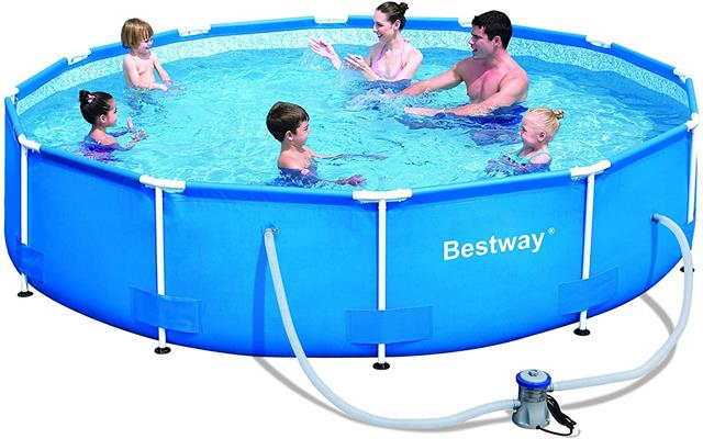 Bestway 56061US Steel Pro Above Ground Pool