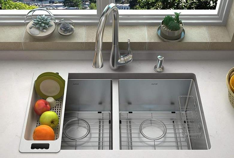 How To Unclog A Double Kitchen Sink With Standing Water Tpa10 Com
