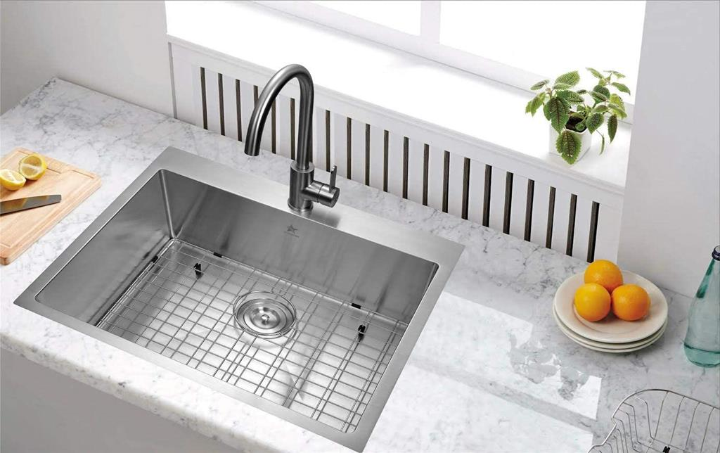 How can you replace your kitchen sink sprayer hose