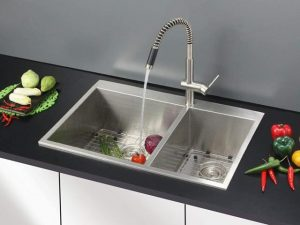 Ruvati 33 x 22 Inch Drop-in Double Bowl Kitchen Sink Review